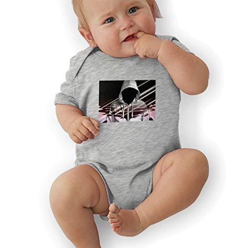 Babybekleidung Jungen Mädchen T-Shirts, Newborn Baby Girl's Bodysuit Short-Sleeve Onesie Hip-Hop Print Outfit Autumn Pajamas (Little Einstein T-shirt)