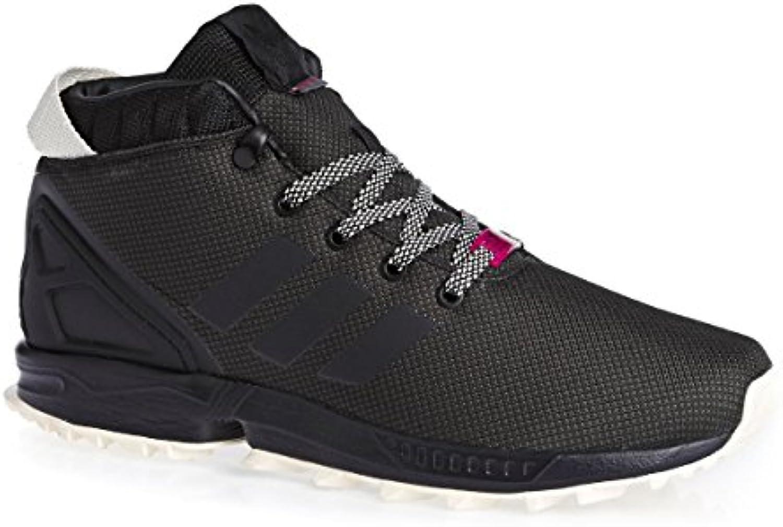 adidas Herren ZX Flux 5/8 Tr Turnschuhe  Schwarz