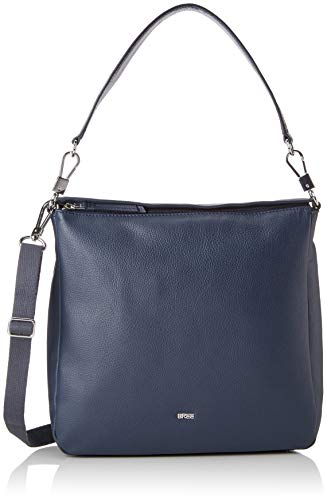 ddc2b95efd BREE Collection Lia 10, Navy, Backpack M, Sacs à dos femme, Bleu