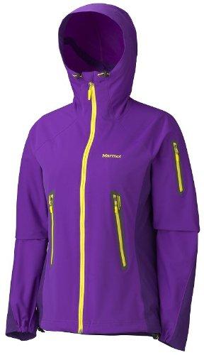 Marmot Vapor Trail - Giacca con cappuccio, donna, Viola (Viola - Vibrant purple/deep purple), M