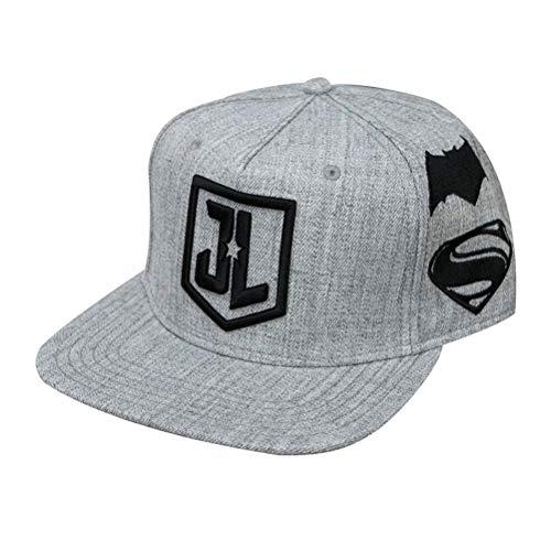 Imagen de dc comics logotipo oficial de la liga de la justicia snapback cap  one size adjustable