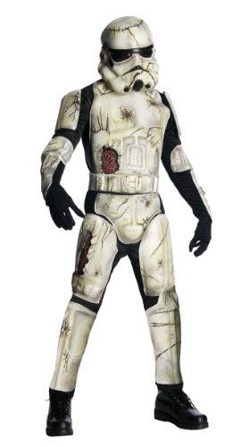 Halloween Star Wars Herren Kostüm Death Trooper Zombie (Kostüme Halloween Stormtrooper)