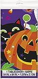 Partito Unico plastica Happy Halloween Tovaglia, 7ft x 4.5ft