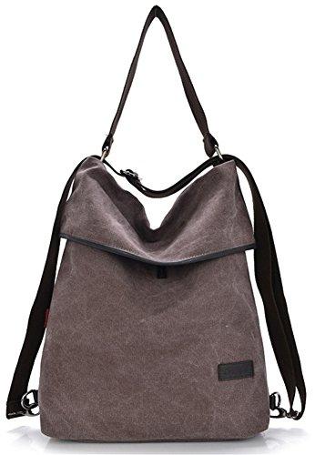 ERGEOB Damen Handtasche/ Schultertasche Farbe roter Bohnenpaste (Rucksack Tasche Handtasche)