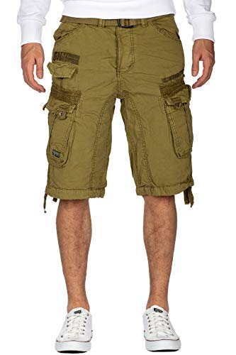 Geographical Norway Herren Shorts Panoramique Men New BS2 Mastic XL