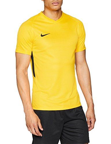 release date: 92436 f9dc3 Nike Men s Tiempo Premier Football Jersey T- T-Shirt Homme, University Gold  (