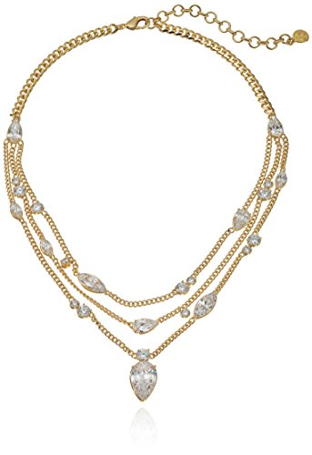 nicole-miller-multichain-pear-collar-gold-chain-necklace