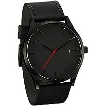 Herren Quarz Armbanduhr, Hansee Mode beliebte Low Key minimalistischen Konnotation Leder Uhr