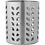 Dynore Stainless Steel Cutlery Holder, Silver (DS_89)