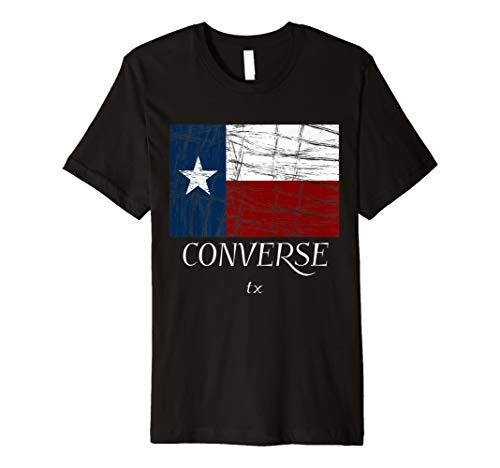 Converse TX-T-Shirt | Used, Vintage Texas Tee (Youth T-shirt State)
