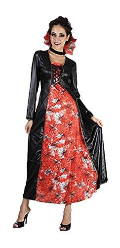 Damen Halloween Königin des Web Kostüm Onesize 36-42 (Onesize (EUR 36-42), Schwarz)
