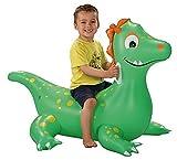 Flotador hinchable en forma de dragón con dos asas. Dimensiones: aprox.  117 x 81 x 77 cm