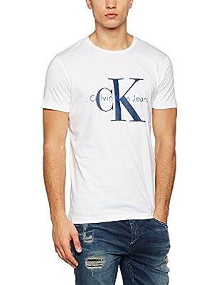 Calvin Klein Jeans Men's Tolme True Icon Cn Tee S/S T-Shirt