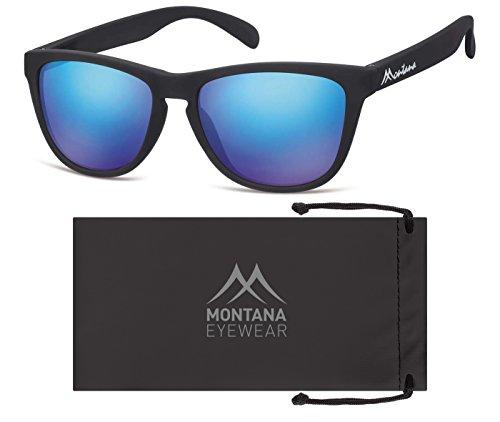 Montana Eyewear Sunoptic MS31A Sonnenbrille in schwarz, inklusive Stoffbeutel