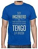 Camiseta para Hombre - Soy Ingeniero Solo Asume Que Siempre Tengo la Razón - Regalo...
