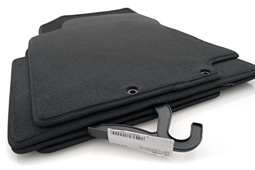 Fußmatten Nissan X-Trail (T32) Original Qualität Velours Automatten - 4.teilig schwarz