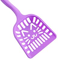 Pet Care Spoon, use as Pet Food Scoop or as Cat Litter Sifting Cleaner Shovel - Purple