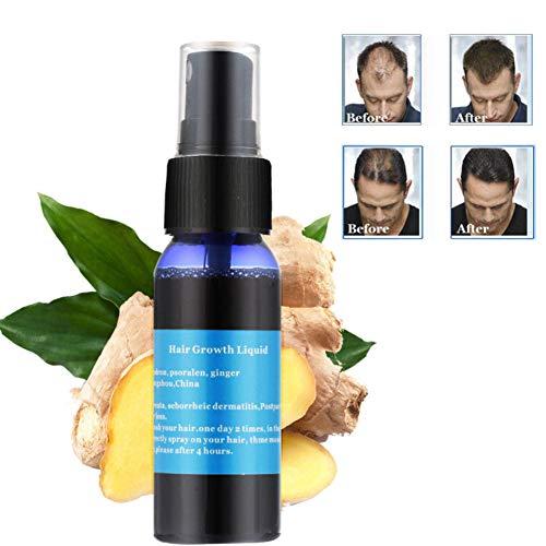 Sérum capillaire Wisolt Sérum de Croissance de Cheveux,Huile Essentielle,Perte de Cheveux et Cheveux Effiler Traitement pour homme et pour femme