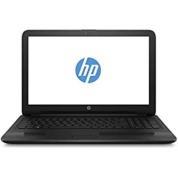 HP 15-ba050ng 39,6 cm (15,6 Zoll/Full HD) Notebook (AMD A6-7310, 4 GB DDR3L, 1 TB HDD, AMD Graphics, DVD-RW, Win 10 Home 64 Bit) schwarz