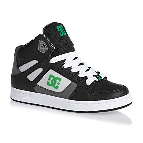 DC Shoes  Rebound, Sneakers Basses Fille Noir