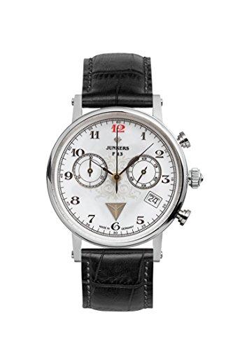 Junkers Damen-Armbanduhr Chronograph Quarz Leder 65871