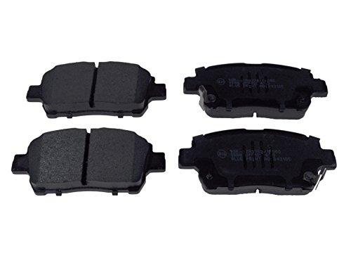Blue Print ADT342105 Bremsbelagsatz (vorne, 4 Bremsbeläge) (Toyota Bremsbelag)