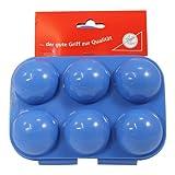 Eierträger 6-fach in blau