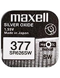 Maxell 377 SR626SW - Pila de reloj