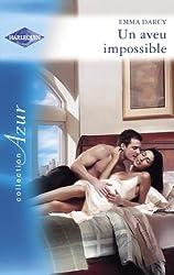 Un aveu impossible (Harlequin Azur)