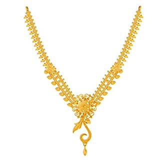 P.C. Chandra Jewellers 22KT Yellow Gold Choker Necklace for Women