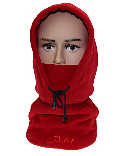 ZZLAY Balaclavas Hut Doppelte Schichten verdicken Winter Cap Neck Warm Ski Gesichtsmaske Outdoor Sports Mask (Womens Double-knit)