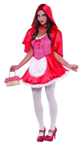 Christy's Erwachsene Woman's Little Miss Rotkäppchen Märchen - Fairy Tale Little Red Riding Hood Kostüm