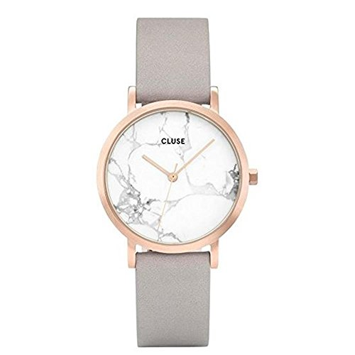 Cluse Montre Mixte Adulte Digitale Quartz avec Bracelet en Cuir – CL40103