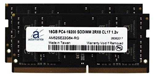 Adamanta 32GB (2x16GB) Laptop Memory Upgrade for Lenovo Thinkpad P51