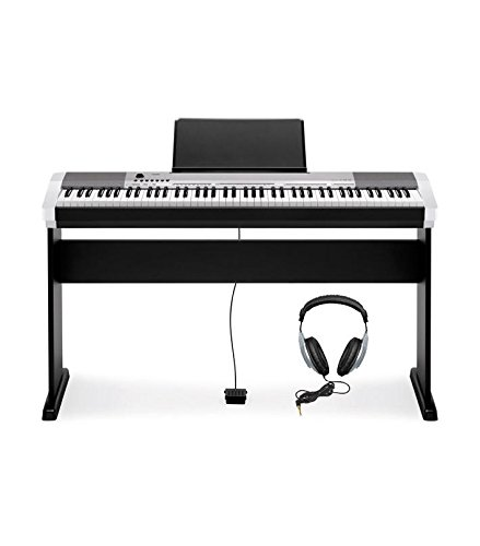 CASIO-DIGITAL-PIANO-CDP-130-KIT-SILBER