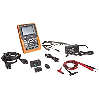 Owon HDS1021M Series HDS Handheld Digital Storage Oscilloscope and Digital Multimeter, 20MHz, Single Channel, 100MS/s Sample Rate by OWON