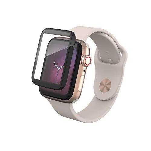 invisibleSHIELD 200102449 Curve-Glas Elite Displayschutz für Apple Watch Serie 4 44 mm Zagg Invisibleshield Apple