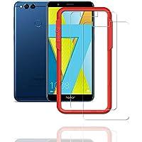 Flos Verre Trempé Huawei Mate Se/Honor 7X **Pack de 2** [Kit d'installation Offert], Film Protection écran en Verre Trempé écran Ultra Résistant [3D Touch Compatible] pour Huawei Mate Se/Honor 7X
