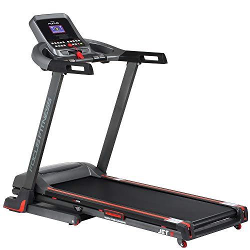 Focus Fitness Laufband Jet 5 - 2 PS 16 km/h - Klappbar - Belastbarkeit bis 120 kg - Treadmill