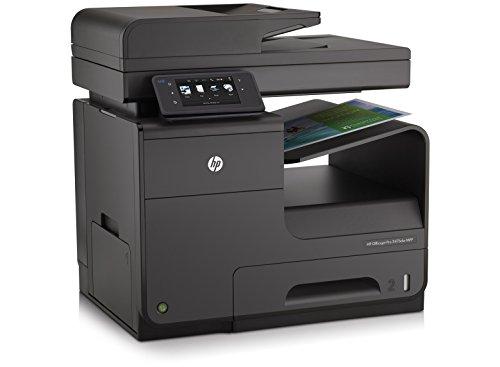 Bild 2: HP Officejet Pro X551dw All-in-One Multifunktionsdrucker (A4, Drucker, Scanner, Kopierer, Fax, Dokumentenecht, Wlan, USB, 2400x1200) schwarz