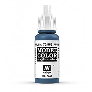 Vallejo Model Color Acrylfarbe, 17 ml Preußisches Blau