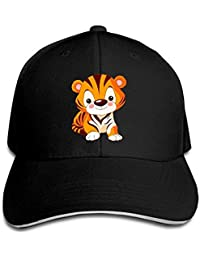 NDJHEH Gorras béisbol Sandwich Baseball Caps Unisex Adjustable Trucker  Style Hats Cute Little Tiger bb75d4e33cc