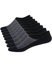 JANE STONE Calcetines Deportivos 8 Pares de Hombre Footies SIXDAYSOX Calcetines Cortos Finos de Algodón Calcetines