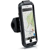 Arendo - iPhone 6 Plus Soporte impermeable para bicicleta | bolsa/funda para bicicleta | soporte para móvil/teléfono inteligente | fácil de usar | fijación segura