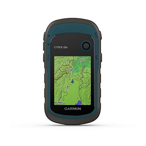 Garmin - eTrex 22x - GPS de randonnée avec cartographie TopoActive Europe préchargée avec routes...