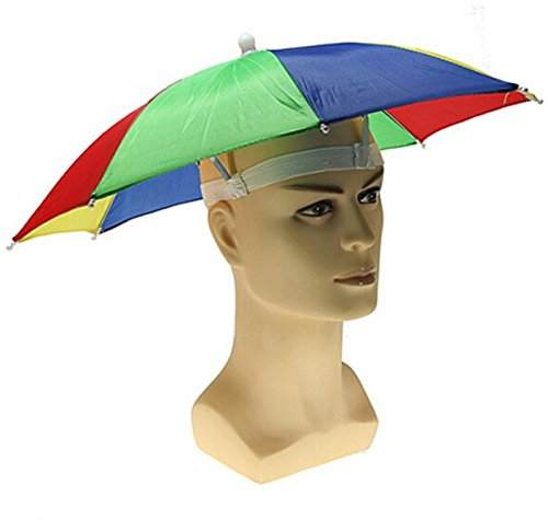 GLOBAL GIFTS Boy's Umbrella Hat (Multicolour)