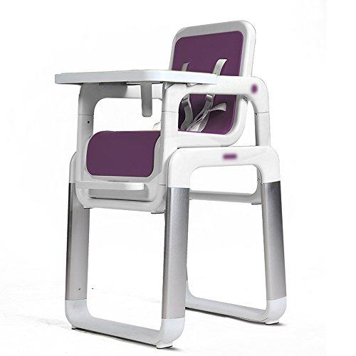 LJHA ertongcanyi Esszimmer Stuhl Multifunktionale Portable Esszimmer Stuhl Kind Baby Stuhl Baby Dinette Essen Sitz (Farbe : Purple)