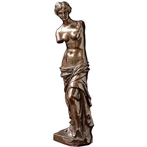 Statue, Aphrodite Skulptur Venus Statue Liebesgöttin Statue Göttin Statue 16,5 Zoll ()