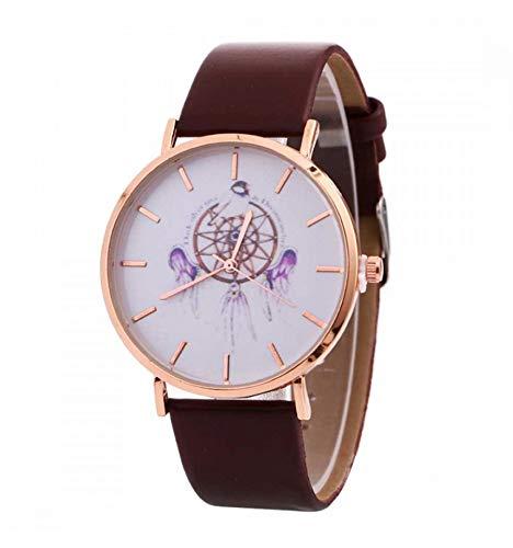 Reloj Fantasía Mujer diseño Atrapasueños-Pulsera Marrón