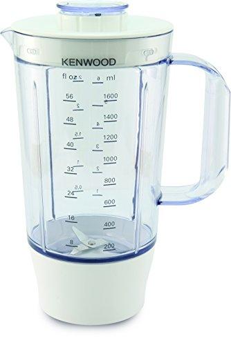 Kenwood FDP645WH Robot da Cucina Multipro, 1000 W, Plastic, Grigio